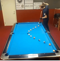 Dank, Pool, and 🤖: MotorSport| . These incredible pool trick shots get better and better!  👀🎱
