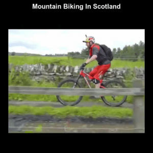 Funny, Memes, and Videos: Mountain Biking In Scotland RT @StumblerFunny: For more funny videos follow @StumblerFunny or visit https://t.co/wXxwph26cH https://t.co/GeT8ROfhax