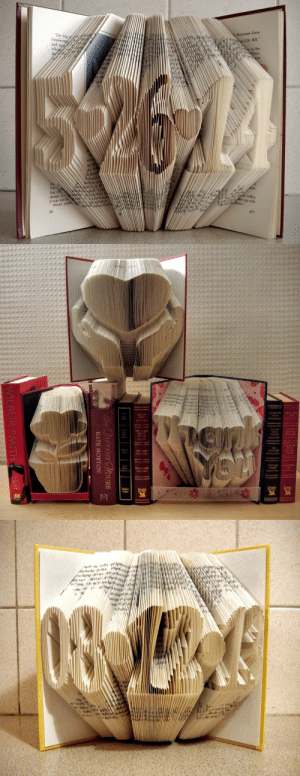 """handmadegift-ideas:     Personalized Engagement Gifts     I love books. And I love crafting. Folded Book Art combines both of these passions. Any of these creations would look wonderful in your home or make great gifts for book-lovers.   : Mountain Farm  'sDr. Bill""""  as the  The trip  usiness  and a  en-  ing  He  the  log ab  damp, a  it was not ju.  ally  r coffee  down uP with  Owen pulle  36   ISTANT HOURS  KATE MORTON  WILBUR SMITH handmadegift-ideas:     Personalized Engagement Gifts     I love books. And I love crafting. Folded Book Art combines both of these passions. Any of these creations would look wonderful in your home or make great gifts for book-lovers."""