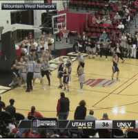 Memes, SportsCenter, and Utah: Mountain West Network  NETWOR  UTAH ST  36 They were throwing hands during yesterday's UNLV- Utah Womens basketball game! 🏀😳👊 @SportsCenter WSHH