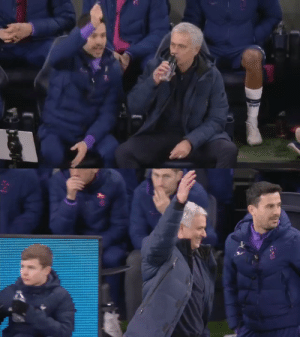 Mourinho's reaction when his assistant suddenly told him that Sterling should've got a second yellow card for diving 😂😂🤣 https://t.co/lqHJVZGE5z: Mourinho's reaction when his assistant suddenly told him that Sterling should've got a second yellow card for diving 😂😂🤣 https://t.co/lqHJVZGE5z