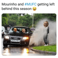Memes, Goal, and Left Behind: Mourinho and #MUFC getting left  behind this Season  SHOT ON GOAL  NV55 RMO