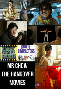 hangover: movie  CRAVAM  CHARACTERS  BOUT  MONIES  MR CHOW  THE HANGOVER  MOVIES