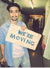 Memes, Salon, and 🤖: MOVING #FBF On the last night of In The Heights Off-Broadway, I pulled this sign off Daniela's Salon and held it up to the audience to let 'em know we were headed to Broadway https://t.co/Mn8b7mkNrm