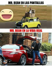 Mr. Bean, Bean, and Real: MR. BEAN EN LAS PANTALLAS  MR. BEAN EN LA VIDA REAL