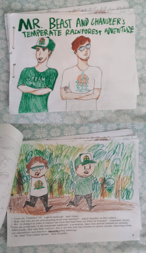 Mr. Beast children's book that I made for my Environmental science Class a while back: Mr. Beast children's book that I made for my Environmental science Class a while back
