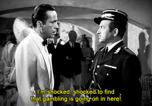 MRW I come back from the bathroom and our poker game got busted: MRW I come back from the bathroom and our poker game got busted