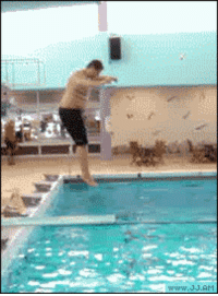 Fucking, Mrw, and Pool: MRW someone tells me to go to the nearest pool, kneel on the diving board and snap my fucking neck.