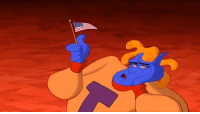 MRW the President issues a travel ban from Agrabah: MRW the President issues a travel ban from Agrabah