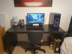 My first gaming PC setup in years, any advice what to add to it to make it look better that isn't expensive: msi  msi  msi  Optix  G241 Series  6GB GDDR6  CURVED GAMING MONITOR  GEFORCE  RTX  2080  9 CH  249  alall My first gaming PC setup in years, any advice what to add to it to make it look better that isn't expensive