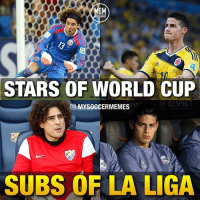Sad but true... James (Real) and Ochoa (Grenada), hope they will be back stronger next season ... 🙌🙁 . Tag your friends bellow 👇 . Double-tap & follow me @mysoccermemes for more!: MSM  STARS OF WORLD CUP  RESPECT  PIO  MYSOCCERMEMES  SUBS OF LA LIGA Sad but true... James (Real) and Ochoa (Grenada), hope they will be back stronger next season ... 🙌🙁 . Tag your friends bellow 👇 . Double-tap & follow me @mysoccermemes for more!