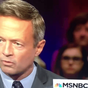 Tumblr, Blog, and Girl: MSNBC vitaeaureliana:  I'm the girl   This is legit the most coverage O'Malley has ever gotten he went from doing -987.9% in the polls to a solid 2.3%