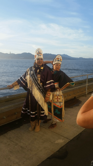 Children, Tumblr, and Blog: Mt  Mis theoknox:  The mug is mightier than the sword.   At the two-spirit powwow with legendary children, Spirit Wildcat and Rocko Star, Ms. International Two Spirit  Ms.  Montana Two Spirit giving face! !!!!!!