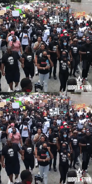 Much love to those in #Houston, Texas who showed up to march with #GeorgeFloyd's family today! ❤️ #RIPGeorgeFloyd #BlackLivesMatter https://t.co/5sX2IvW04A: Much love to those in #Houston, Texas who showed up to march with #GeorgeFloyd's family today! ❤️ #RIPGeorgeFloyd #BlackLivesMatter https://t.co/5sX2IvW04A