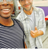 Drake, Memes, and Respect: Much respect to this OG Drake and josh fan I met in Santa Cruz.
