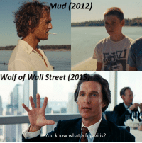 The Wolf of Wall Street: Mud (2012)  Wolf of Wall Street (2015  You know whata fugazi is?