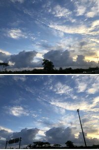 Memes, Mufasa, and Puerto Rico: Mufasa skies over Puerto Rico this morning. #HeLivesInMe https://t.co/bqaTMm0J5w