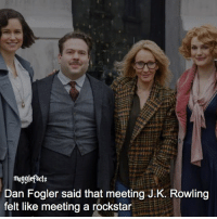 "qotd : comment ""😏"" if you knew this and ""😱"" if you didn't. I found this on @nevillescardigan 's blog, you should all check it out, it's the link in her bio i think. fc: 97,1k: mugglefacts  Dan Fogler said that meeting J.K. Rowling  felt like meeting a rockstar qotd : comment ""😏"" if you knew this and ""😱"" if you didn't. I found this on @nevillescardigan 's blog, you should all check it out, it's the link in her bio i think. fc: 97,1k"