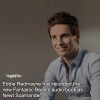 "Memes, 🤖, and Eddie Redmayne: mugglefacts  Eddie Redmayne has recorded the  new Fantastic Beasts audio book as  Newt Scamander qotd : comment ""😏"" if you knew this and ""😱"" if you didn't. fc: 73,1k Source: Pottermore. I didn't want to start the saturday morning of so sad so here's another fact!❤"