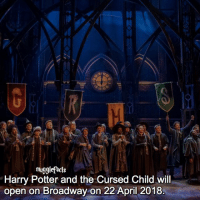 """qotd : comment """"😏"""" if you knew this and """"😱"""" if you didn't.: mugglefacts  Harry Potter and the Cursed Child will  open on Broadway on 22 April 2018 qotd : comment """"😏"""" if you knew this and """"😱"""" if you didn't."""