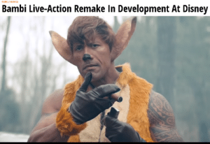 Ah shit, here we go again: MUMEI MUYICS  Bambi Live-Action Remake In Development At Disney Ah shit, here we go again