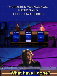 """Money, Http, and Template: MURDERED YOUNGLINGS,  HATED SAND  USED LOW GROUND  Ja  Onu  What have I done? <p>Do you think this template will daily double my money? via /r/MemeEconomy <a href=""""http://ift.tt/2nBdpjV"""">http://ift.tt/2nBdpjV</a></p>"""