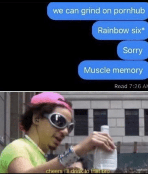 Muscle memory isn't always good by sklarty MORE MEMES: Muscle memory isn't always good by sklarty MORE MEMES