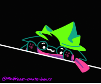 Target, Tumblr, and Bears: mushroom-cookre-bears mushroom-cookie-bears:  bongo ralsei!!!!!!!!!!!!!!!