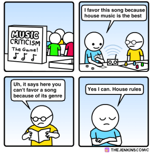 Music Criticism: The Game!: Music Criticism: The Game!