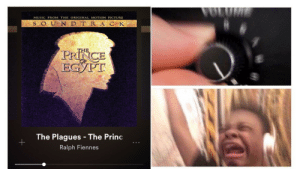 Plagues: MUSIC FROM THE ORIGINAL MOTION PICTURE  S OUN D T RA C K  THE  PRINCE  ЕСУРТ  The Plagues -The Princ  Ralph Fiennes