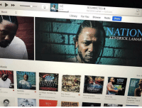 Kendrick actually did it this second album is fire https://t.co/40YpUFHF98: Music  Music  rick Lamar  3 NATION  Kendrick Lamar  RESURRECTED.  0:14  Kendrick Lamar-NATION  1:44  Library  For You  Browse  Radio  Store  NATION  KENDRICK LAMAR  See A  NORMAN  THE SOUL  RODGERS  B La Mejor Version De  The Seven  B Storm chasers  Talib Kweli & Style  Let It Go  Banda Sinaloense M.  Lucky Boys Confusion  Billy Porter  Norman Brown  Presents: The S  Billy Porter  GENTLEMEN: Kendrick actually did it this second album is fire https://t.co/40YpUFHF98