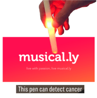 "Live, Can, and Via: musical.ly  live with passion, live musical.ly  lhis pen can detect cance <p>Any potential in this format?? via /r/MemeEconomy <a href=""https://ift.tt/2E2vnSx"">https://ift.tt/2E2vnSx</a></p>"