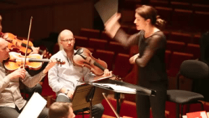 musicalsquidling:  operamusings:  girlwiththemagicpants:  THIS is what passion looks like!!!  Ugh Alondra de la Parra is such a great conductor! Her energy is electric- love her!  SUPPORT ALL THE FEMALE CONDUCTORS THEYRE SUCH BAMFS AND YET SO ADORABLE  Me on the podium this year 💁🏼 : musicalsquidling:  operamusings:  girlwiththemagicpants:  THIS is what passion looks like!!!  Ugh Alondra de la Parra is such a great conductor! Her energy is electric- love her!  SUPPORT ALL THE FEMALE CONDUCTORS THEYRE SUCH BAMFS AND YET SO ADORABLE  Me on the podium this year 💁🏼