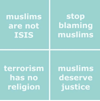 Isis, Memes, and Justice: musiims  are not  ISIS  stop  blaming  muslims  terrorism muslims  deserve  religion justice  has no PSA