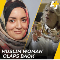 Memes, Muslim, and Europe: MUSLIM WOMAN  CLAPS BACK This is how a Muslim academic clapped back at two far-right politicians in Europe.