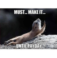 The struggle is real.: MUST... MAKE IT  UNTIL PAYDAY  COM The struggle is real.