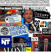 "America, Facebook, and Instagram: mustbebecauseyoureracistand watch  FOx News 24 hoursaday""Starterpack  cCUPY  Here are my sources:  DEMOCRATS  THE  DAILY HUFFINGTON  .POST  squawkkkk  Imore talking noints]  squawkkkk  THE  BC 를  VICE  Other98  DBERAL  VANITY FAIR NEWS  BuzzFeeD  N W  NOWTHIS  Audience: Yes Master Uygur, we  unquestionably believe everything  you say  ALO  Vex I don't know if I've ever called Trevor Noah out, but I've never seen a more cringe political page in my life... as biased as it gets. trevornoah trumplife starterpack trumpmemes liberals libbys democraps liberallogic liberal maga conservative constitution presidenttrump resist thetypicalliberal typicalliberal merica america stupiddemocrats donaldtrump trump2016 patriot trump yeeyee presidentdonaldtrump draintheswamp makeamericagreatagain trumptrain triggered CHECK OUT MY WEBSITE AND STORE!🌐 thetypicalliberal.net-store 🥇Join our closed group on Facebook. For top fans only: Right Wing Savages🥇 Add me on Snapchat and get to know me. Don't be a stranger: thetypicallibby Partners: @theunapologeticpatriot 🇺🇸 @too_savage_for_democrats 🐍 @thelastgreatstand 🇺🇸 @always.right 🐘 @keepamerica.usa ☠️ @republicangirlapparel 🎀 @drunkenrepublican 🍺 TURN ON POST NOTIFICATIONS! Make sure to check out our joint Facebook - Right Wing Savages Joint Instagram - @rightwingsavages"