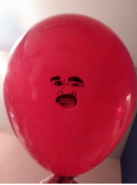 My 13 year old drew Steve Harvey on a balloon and named it Steve Harvey: My 13 year old drew Steve Harvey on a balloon and named it Steve Harvey