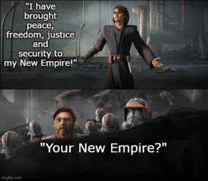 """""""My allegiance is to the Republic...TO DEMOCRACY!"""": """"My allegiance is to the Republic...TO DEMOCRACY!"""""""