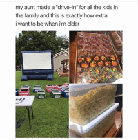 """i might have to go on break for a couple days cause i still haven't gotten wifi so if i don't post please don't unfollow im not leaving just trying to get wifi: my aunt made a """"drive-in"""" for all the kids in  the family and this is exactly how extra  i want to be when i'm older i might have to go on break for a couple days cause i still haven't gotten wifi so if i don't post please don't unfollow im not leaving just trying to get wifi"""