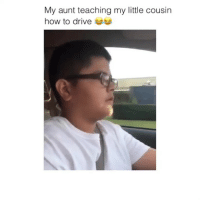 Memes, Videos, and Drive: My aunt teaching my little cousin  how to drive follow @comediic for more videos ✨✨ (credit to @lealbibiana_ )