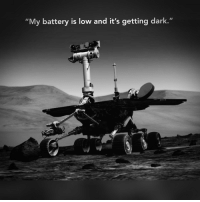 """dark: My battery is low and it's getting dark.""""  it"""
