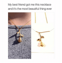 """Tag your best friend 🌹 Get it from @Galaxyswap for $18 when you use my promo code """"cohmedy"""" ❤️ link in bio: My best friend got me this necklace  and it's the most beautiful thing ever Tag your best friend 🌹 Get it from @Galaxyswap for $18 when you use my promo code """"cohmedy"""" ❤️ link in bio"""
