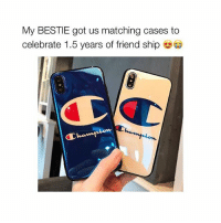Cute, Free, and Girl Memes: My BESTIE got us matching cases to  celebrate 1.5 years of friend ship ❤️FREE❤️ Awww how cute !? 😭 @temporarytrend released cases for FREE !! Just pay shipping ✈️💕 *Ends in 2 hours*