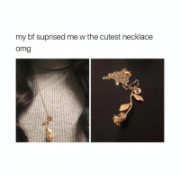 """Omg, Today, and Girl Memes: my bf suprised me w the cutest necklace  omg  R. 🌹Shop now @shopglamorously 🌹 💕Use code """"glamour"""" for 15% all orders 💕 🙋FREE Worldwide shipping on all orders placed today🙋 👯Tag your mans 😘"""
