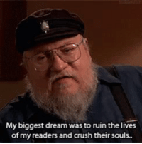Crush, Espanol, and International: My biggest dream was to ruin the lives  of my readers and crush their sous. ¿Por qué eres así?  #GameOfThrones   https://t.co/XODTC7XCMZ