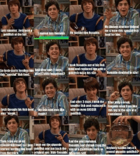 """Drake & Josh Quotes https://t.co/tC63DW96Gb: My biology teacher helped  me create this specialfish  Last Summer, Josh Won a  HenamediamRonaldo  goldfish at the fair.  named him Ronaldo  food for him.  Itook Ronaldo out of his fish  seipsh starts feeding him Andalterealy2days, bowland replaced him With a  this Buess what happened? goldfish twice his size.  Ronaldo doubled in Size!  special fish food.  And after 3 days, itook the  After only aweek,  smaller fish and replaced it Ronaldowent fromlike  Myfislifood was ike with an even BIGGER this big to the size of a  Josh thought his fish food  was """"magic.  magic!  goldfish.  cantelope!  And the peatmomind.  en Iran out  special fish food soljust Itookoutthe gigantic RRonaldohad shrunk from  started feeding higilood goldfish and putback the  size ofacantelope backmo Anybody wanna buy 3  pound gigantic goldfish?  from the store.  original one,litte Ronaldo histeeny self Drake & Josh Quotes https://t.co/tC63DW96Gb"""