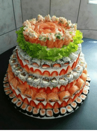 Phenomenal My Birthday Cake It Says Sushi Cake Birthday Meme On Me Me Personalised Birthday Cards Veneteletsinfo