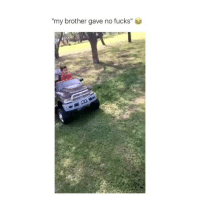 "Memes, 🤖, and Brother: ""my brother gave no fucks"" rip"