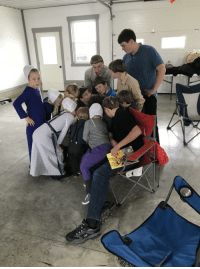 My brother pulled out his iPhone at thanksgiving with our Amish family.: My brother pulled out his iPhone at thanksgiving with our Amish family.